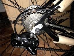 Título do anúncio: Bicicleta KSW Preto brilhante