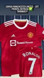Título do anúncio: Camisa Manchester United - CR7