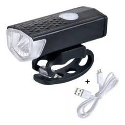 Farol LED Bike Bicicleta 300 Lumens RPL2255<br><br>