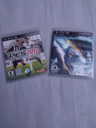 Jogos PS3 PES 2012 e METAL GEAR vendo troco