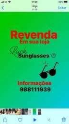 Título do anúncio: Revenda óculos da marca Luck em sua loja .
