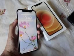 Título do anúncio: iPhone 12 64Gb Branco (LEIA O ANÚNCIO)