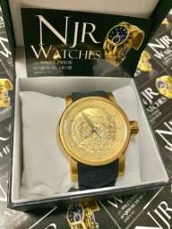 Relógio Invicta yakusa preto automatico novo