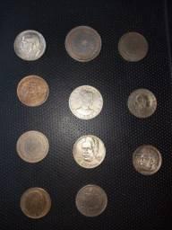 Moedas de prata antigas