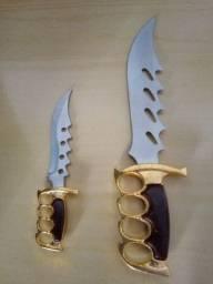Título do anúncio: Kit de facas em aço.