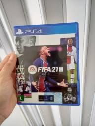 Título do anúncio: JOGO PS4 FIFA 21