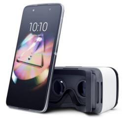 Título do anúncio: Celular Smartphone Alcatel Idol 4 + Óculos Realidade Virtual
