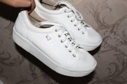 Tênis branco viamarte - Tam 36