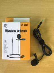 Título do anúncio: Microfone de lapela p3 para smartphones e notebooks<br>