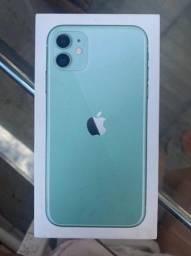 iPhone 11 verde água
