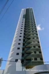 Apartamento 02 Quartos Na Torre, Planejados, andar Alto com 02 vagas de Garagens