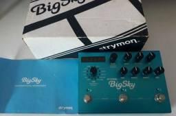 Strymon Big Sky com caixa e manual