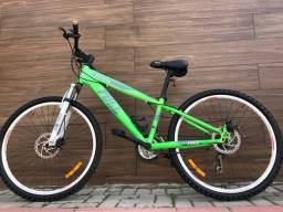 Título do anúncio: Bike top pra hoje (com nota)
