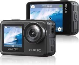 Câmera de ação 4k - Mijia 4k e Akaso brave 7LE