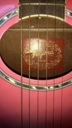 Título do anúncio: Violão tagima dallas pink