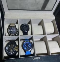 Relógios Festina, Lacoste e Diesel + Porta relógio  Vivara
