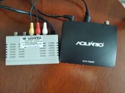 """Conversor Digital + Modulador + TV 20"""""""