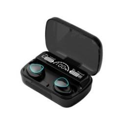 Fone de ouvido TWS bluetooth 5.0 + case - Novo