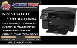 Impressora laser hp multifuncional M1132