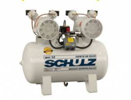 Título do anúncio: Compressor de ar Odontologico Schulz - MSV 12/100 Isento de Óleo - 12 PES 100 L