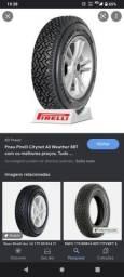 Título do anúncio: Par pneus Pirelli citynet 175/80r14.
