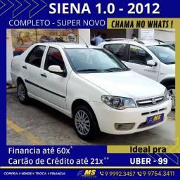 Título do anúncio: Siena fire 1.0 - 2012 - Completo - Troco - Financio - Ideal p/Uber e 99