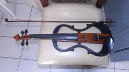 Título do anúncio: Violino elétrico Eagle .