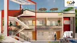 Apartamento a venda com 2 quartos em Garapu, Cabo-PE e com area de lazer( Lançamento )