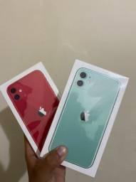 iPhone 11 64GB Novo/Lacrado Verde, vermelho