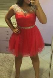 Título do anúncio: Vestido Festa Rosa