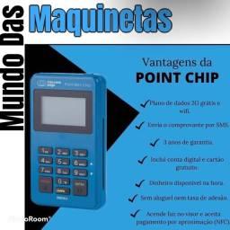 Máquina de cartão mercado pago  point mini chip
