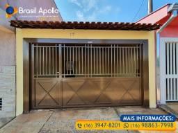 Título do anúncio: Vende casa no Jardim Campo Belo com dois dormitórios em Sertãozinho/SP