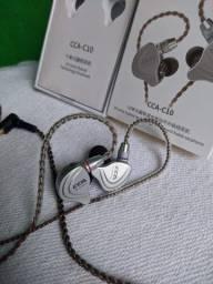 Título do anúncio: Cca C10 - 10 Drivers(4ba + 1dd) - Monitor / Retono de palco - Fone de ouvido