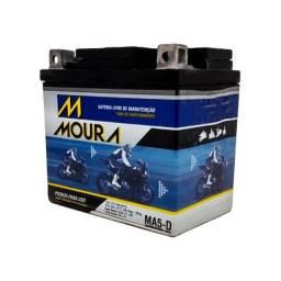 Vendo bateria Moura Nova com garantia para Moto