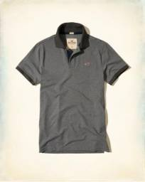 Camisa' polo Hollister cinza
