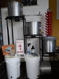 Kit cervejeiro 20 lts com Brewstand