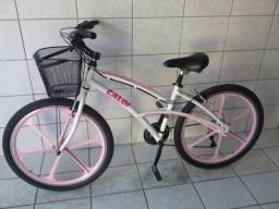 Bicicleta Feminina Adulto Caloi aro 26