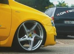 d2c0f87f010 Jogo de rodas Rocket Ferrari aro 20 Volcano !!! Divido no cartão !