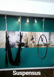 Pilates suspensus- Columpio e Lira semi novos