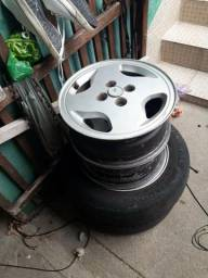 Vendo ou troco rodas aro 14
