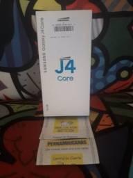 Galaxy J4 Core Novo no Plástico+Nota Fiscal+Garantia
