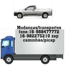 Mudanças/transportes/carretos Rib. preto e todo brasil