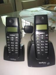 Vendo telefone sem fio com extensão