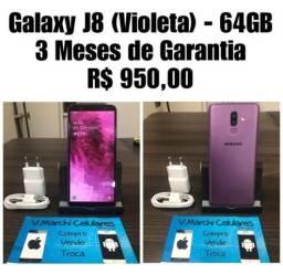 Galaxy J8 (Violeta) - 64GB com 3 Meses de Garantia