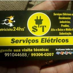 Eletrecista de plantão 24hrs * Aceito cartão