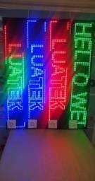 Painel De Led 1 Metro [vermelho, verde, azul e colorido] (Entrega Gratis)