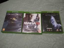 Jogos Xbox One (Troca leia)