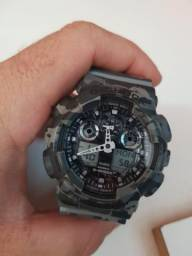 Relógio G Shock Camuflado GA 100 - 5081 ORIGINAL - Pra vender rapido