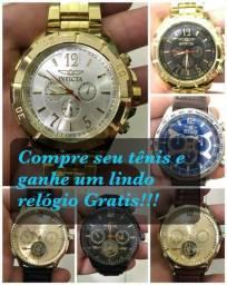 7914a9199fb Promoção brinde relógio invicta ou chinela reserva