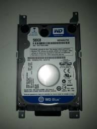 HD Western Digital 500 GB Notebook
